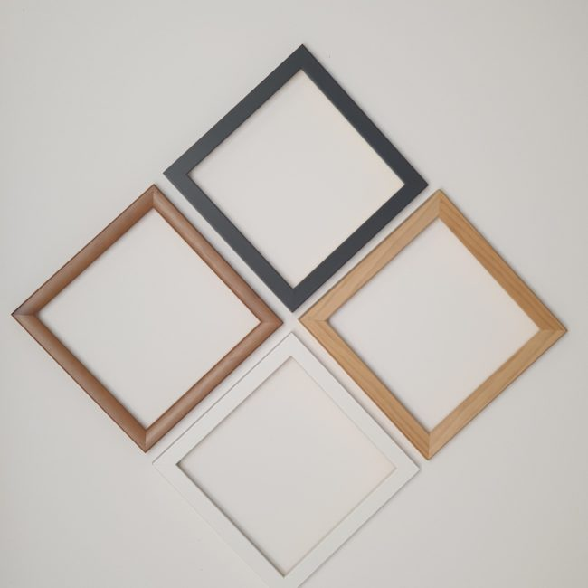 Frame With Glass And Back Board
