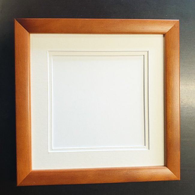 Frame With Glass, Back Board And Mat/s